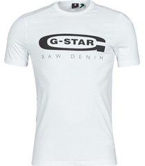 t-shirt korte mouw g-star raw graphic 4 slim r t short sleeve