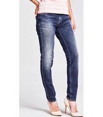 jeansy model skinny z pięcioma kieszeniami