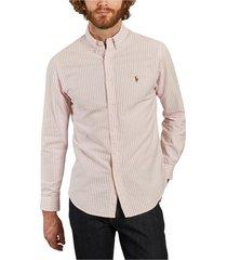 oxford gestreept overhemd