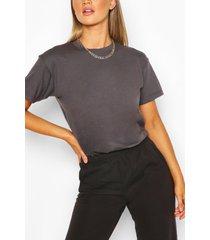 basic oversized t-shirt, dark grey