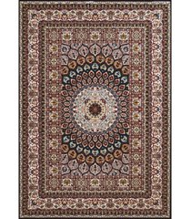 "asbury looms antiquities jaipur 1900 01664 58 navy 5'3"" x 7'2"" area rug"