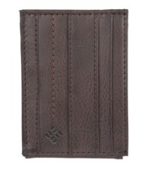 columbia rfid slim front pocket men's wallet