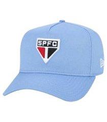 boné new era 940 a-frame futebol são paulo - azul