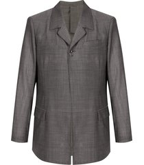 doublet semi-sheer jacket - grey
