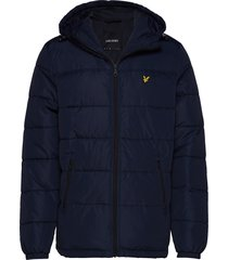 wadded jacket fodrad jacka blå lyle & scott