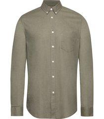 liam ba shirt 6971 overhemd casual groen samsøe samsøe