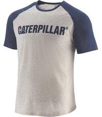 camiseta caterpillar hombre gris 2510760-z4j