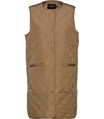 slumina waistcoat vests padded vests brun soaked in luxury