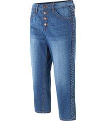 jeans capri elasticizzati (blu) - john baner jeanswear