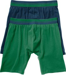boxer lunghi (pacco da 2) (blu) - bpc bonprix collection