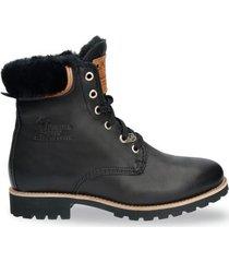 panama jack boots women panama 03 igloo travelling b2 napa negro black-schoenmaat 37