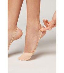 calzedonia fashion invisible socks woman nude size tu