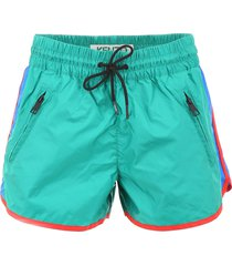 kenzo color block shorts
