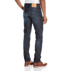 levi's 511 men's cotton slim fit denim jeans 511-1644 green splash