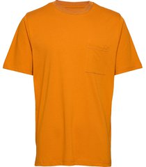 bevtoft t-shirt 10964 t-shirts short-sleeved gul samsøe samsøe