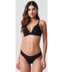 calvin klein tonal logo bikini - black
