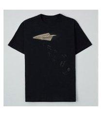 camiseta reserva lnk musical attack masculina