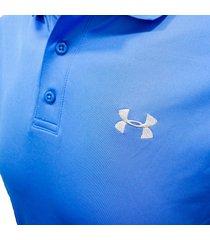camiseta polo under armour 1242755-985 - azul