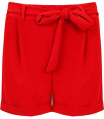 basic strik shorts rood