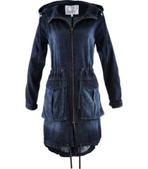 parka in jeans (blu) - bpc bonprix collection