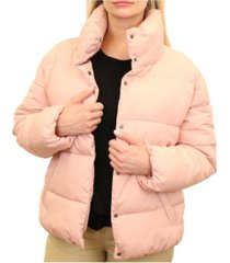 mountain and isles women's wide quilted puffer jacket