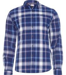 camisa masculina sea check new classic - azul