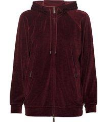 barocco hoodie trui rood max mara leisure