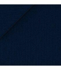 pantaloni da uomo su misura, vitale barberis canonico, blu 130's spigati lana, quattro stagioni | lanieri