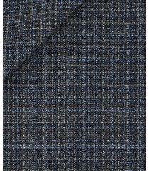 pantaloni da uomo su misura, lanificio zignone, melange grigio, quattro stagioni | lanieri