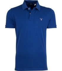 gant poloshirt yale blue regualr fit