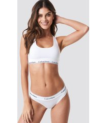 calvin klein bikini modern cotton - white
