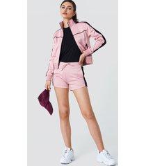na-kd track shorts - pink