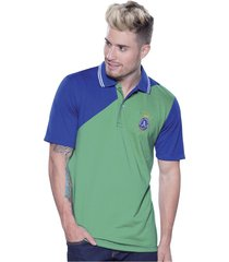 camiseta verde azul atypical