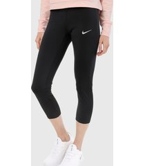 leggings negro-blanco nike,