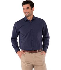 camisa formal print puntos azul arrow