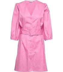 endena 3/4 dress 6712 jurk knielengte roze envii