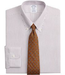camisa regent fitted non-iron morado brooks brothers