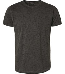 no excess t-shirt short sleeve crewneck all o dark grey