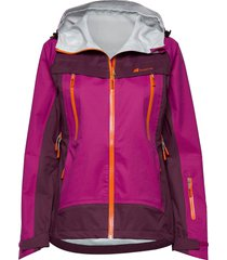 runde 3-layer technical shell jacket outerwear sport jackets paars skogstad