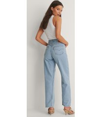 levi's loose straight jeans low bow - blue
