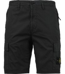 classic logo detail bermuda shorts