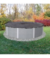 blue wave arcticplex above-ground 15' x 30' oval rugged mesh winter cover