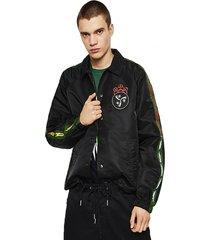 chaqueta j akito emb jacket negro diesel