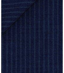 giacca da uomo su misura, vitale barberis canonico, 2-ply blu rigata, primavera estate | lanieri