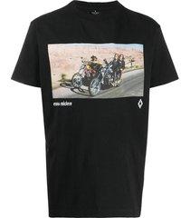 easy rider logo t-shirt black
