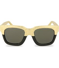 novelty 52mm square sunglasses