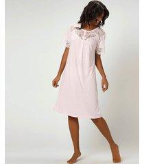 camisola joge longas rosa