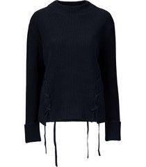 tröja alyssa strap knit