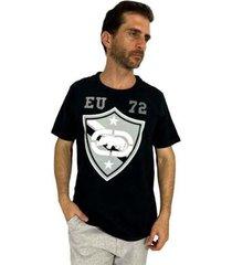 camiseta ecko brasão masculina