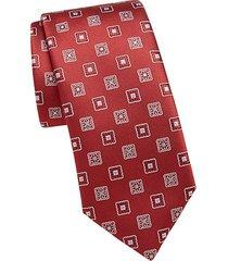ornate silk tie